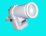 Flash LED PIN SPOT 12W RGBW 4w1 CREE DMX BIAŁY