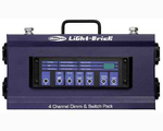 Showtec Lightbrick 4 Channel Dimming Pack DMX