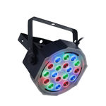 Flash LED PAR 56 Slim - 18X3W RGB Aura