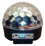 Flash LED MAGIC BALL MP3 z odtwarzaczem Mp3, SD