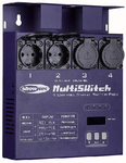 SHOWTEC MultiSwitch 4 Kanal DMX Switchpack