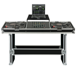 Reloop Turntable/Mixer Console Case Pro with Laptop Tray