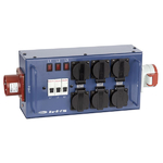 Showtec Powersplitter 16 (powersplit with fuse)