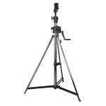 Showtec Wind-Up Lightstand Steel 3,8m