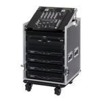 "Reloop 19"" Rack Case 12 RU PRO Top."