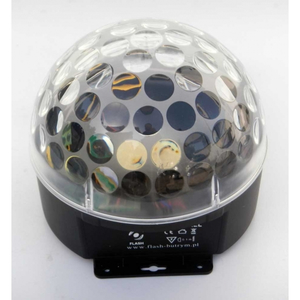 LED MAGIC BALL 3X3W RGB SOUND CONTROLL